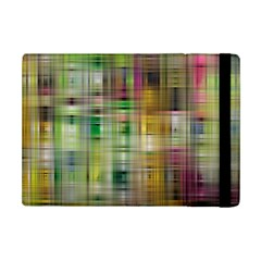 Woven Colorful Abstract Background Of A Tight Weave Pattern Ipad Mini 2 Flip Cases