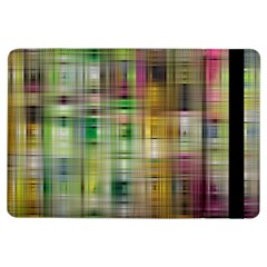 Woven Colorful Abstract Background Of A Tight Weave Pattern Ipad Air Flip
