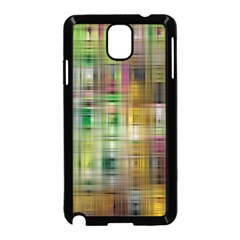 Woven Colorful Abstract Background Of A Tight Weave Pattern Samsung Galaxy Note 3 Neo Hardshell Case (black)