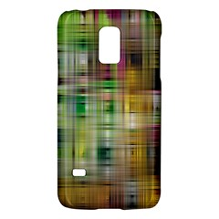 Woven Colorful Abstract Background Of A Tight Weave Pattern Galaxy S5 Mini by Nexatart