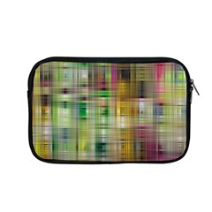 Woven Colorful Abstract Background Of A Tight Weave Pattern Apple Macbook Pro 13  Zipper Case by Nexatart