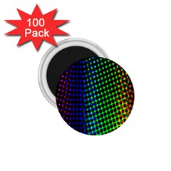 Digitally Created Halftone Dots Abstract 1 75  Magnets (100 Pack)  by Nexatart