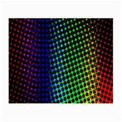 Digitally Created Halftone Dots Abstract Small Glasses Cloth by Nexatart