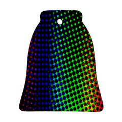 Digitally Created Halftone Dots Abstract Ornament (bell) by Nexatart