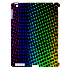 Digitally Created Halftone Dots Abstract Apple Ipad 3/4 Hardshell Case (compatible With Smart Cover) by Nexatart