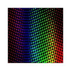 Digitally Created Halftone Dots Abstract Acrylic Tangram Puzzle (6  X 6 )