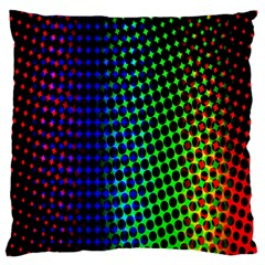Digitally Created Halftone Dots Abstract Standard Flano Cushion Case (two Sides) by Nexatart