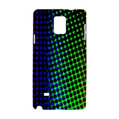 Digitally Created Halftone Dots Abstract Samsung Galaxy Note 4 Hardshell Case