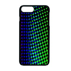 Digitally Created Halftone Dots Abstract Apple Iphone 7 Plus Seamless Case (black) by Nexatart