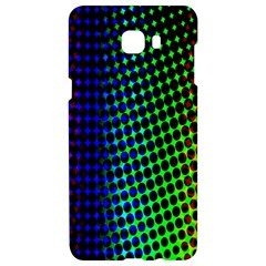 Digitally Created Halftone Dots Abstract Samsung C9 Pro Hardshell Case