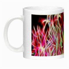 Fractal Fireworks Display Pattern Night Luminous Mugs by Nexatart