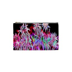 Fractal Fireworks Display Pattern Cosmetic Bag (small)  by Nexatart