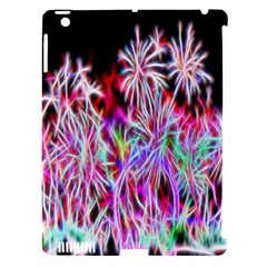 Fractal Fireworks Display Pattern Apple Ipad 3/4 Hardshell Case (compatible With Smart Cover) by Nexatart