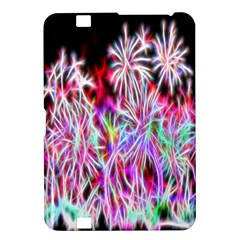 Fractal Fireworks Display Pattern Kindle Fire Hd 8 9  by Nexatart