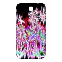 Fractal Fireworks Display Pattern Samsung Galaxy Mega I9200 Hardshell Back Case by Nexatart