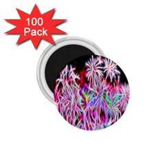 Fractal Fireworks Display Pattern 1 75  Magnets (100 Pack)  by Nexatart