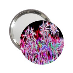 Fractal Fireworks Display Pattern 2 25  Handbag Mirrors by Nexatart
