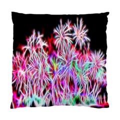 Fractal Fireworks Display Pattern Standard Cushion Case (one Side) by Nexatart