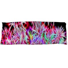 Fractal Fireworks Display Pattern Body Pillow Case Dakimakura (two Sides)