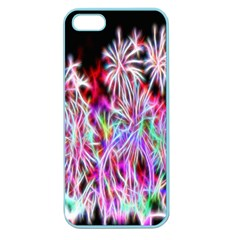 Fractal Fireworks Display Pattern Apple Seamless Iphone 5 Case (color)