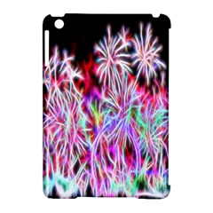 Fractal Fireworks Display Pattern Apple Ipad Mini Hardshell Case (compatible With Smart Cover) by Nexatart