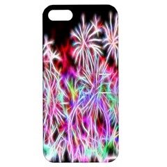 Fractal Fireworks Display Pattern Apple Iphone 5 Hardshell Case With Stand by Nexatart