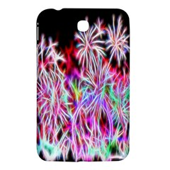 Fractal Fireworks Display Pattern Samsung Galaxy Tab 3 (7 ) P3200 Hardshell Case  by Nexatart
