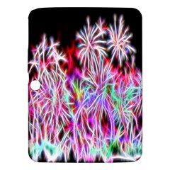 Fractal Fireworks Display Pattern Samsung Galaxy Tab 3 (10 1 ) P5200 Hardshell Case  by Nexatart