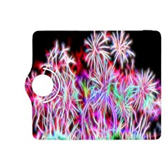 Fractal Fireworks Display Pattern Kindle Fire Hdx 8 9  Flip 360 Case by Nexatart