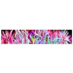 Fractal Fireworks Display Pattern Flano Scarf (small) by Nexatart