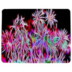 Fractal Fireworks Display Pattern Jigsaw Puzzle Photo Stand (rectangular)
