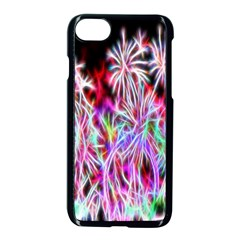 Fractal Fireworks Display Pattern Apple Iphone 7 Seamless Case (black) by Nexatart