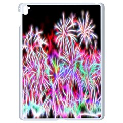 Fractal Fireworks Display Pattern Apple Ipad Pro 9 7   White Seamless Case by Nexatart