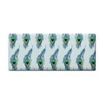 Background Of Beautiful Peacock Feathers Cosmetic Storage Cases