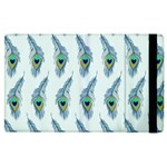 Background Of Beautiful Peacock Feathers Apple iPad 2 Flip Case