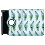 Background Of Beautiful Peacock Feathers Apple iPad 2 Flip 360 Case