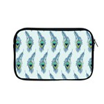Background Of Beautiful Peacock Feathers Apple MacBook Pro 13  Zipper Case