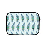 Background Of Beautiful Peacock Feathers Apple MacBook Pro 15  Zipper Case