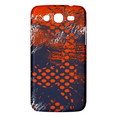 Dark Blue Red And White Messy Background Samsung Galaxy Mega 5 8 I9152 Hardshell Case  by Nexatart