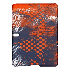 Dark Blue Red And White Messy Background Samsung Galaxy Tab S (10 5 ) Hardshell Case