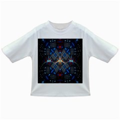 Fancy Fractal Pattern Background Accented With Pretty Colors Infant/toddler T Shirts