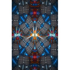 Fancy Fractal Pattern Background Accented With Pretty Colors 5 5  X 8 5  Notebooks