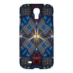 Fancy Fractal Pattern Background Accented With Pretty Colors Samsung Galaxy S4 I9500/i9505 Hardshell Case by Nexatart