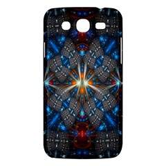 Fancy Fractal Pattern Background Accented With Pretty Colors Samsung Galaxy Mega 5 8 I9152 Hardshell Case