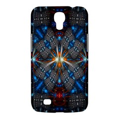 Fancy Fractal Pattern Background Accented With Pretty Colors Samsung Galaxy Mega 6 3  I9200 Hardshell Case by Nexatart