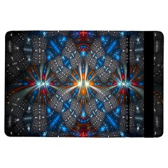 Fancy Fractal Pattern Background Accented With Pretty Colors Ipad Air Flip by Nexatart