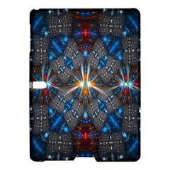 Fancy Fractal Pattern Background Accented With Pretty Colors Samsung Galaxy Tab S (10 5 ) Hardshell Case  by Nexatart