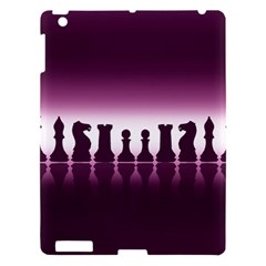 Chess Pieces Apple Ipad 3/4 Hardshell Case by Valentinaart