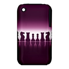 Chess Pieces Iphone 3s/3gs by Valentinaart