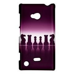Chess Pieces Nokia Lumia 720 by Valentinaart